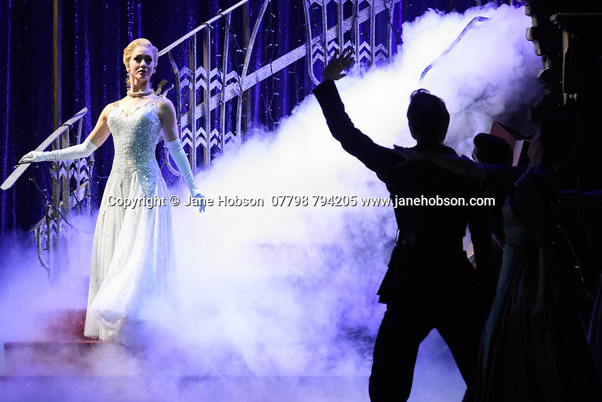 London, UK. 15.12.2017. Matthew Bourne's CINDERELLA returns to Sadler's Wells and runs until January 27th 2018. Picture shows: Ashley Shaw (Cinderella). Photograph © Jane Hobson.