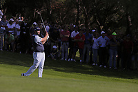 Jon Rahm (ESP) during the second round of the Mutuactivos Open de Espana, Club de Campo Villa de Madrid, Madrid, Madrid, Spain. 04/10/2019.<br /> Picture Hugo Alcalde / Golffile.ie<br /> <br /> All photo usage must carry mandatory copyright credit (© Golffile | Hugo Alcalde)