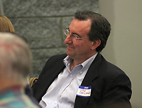 May 8, 2017- Mark Ravizza lectures on Catholic Heritage in the Student Center.