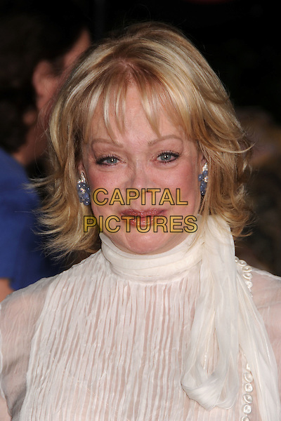 "CANDY SPELLING .""Wall-E"" World Premiere at the Greek Theatre, Los Angeles, California, USA..June 21st, 2008.headshot portrait white sheer top high collar .CAP/ADM/BP.©Byron Purvis/AdMedia/Capital Pictures."