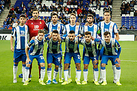 7th November 2019; RCDE Stadium, Barcelona, Catalonia, Spain; UEFA Europa League Football, Real Club Deportiu Espanyol de Barcelona versus PFC Ludogorets Razgrad;   Espanyol line up - Editorial Use