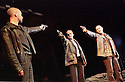 Glenn Chapman,Peter Gowen,Luke Griffin in THe Lieutenant of Inishmore opens at the Garrick Theatre on 26/6/02  pic Geraint Lewis