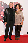"""Jose Sacristan and his Wife attend the Premiere of the movie """"MAGICAL GIRL"""" at Callao Cinemas in Madrid, Spain. October 16, 2014. (ALTERPHOTOS/Carlos Dafonte)"""