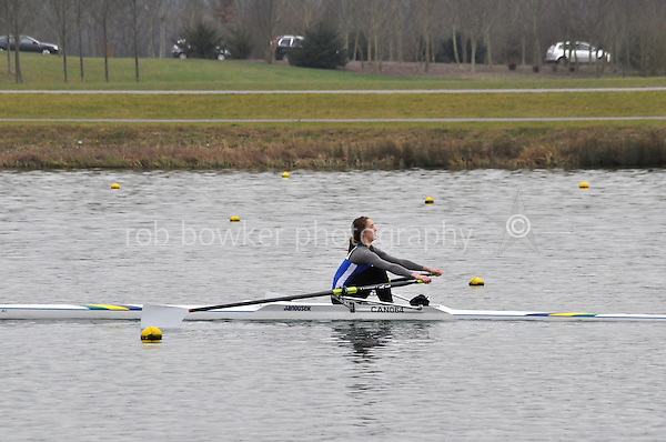 506 Canford Sch W.J18A.1x..Marlow Regatta Committee Thames Valley Trial Head. 1900m at Dorney Lake/Eton College Rowing Centre, Dorney, Buckinghamshire. Sunday 29 January 2012. Run over three divisions.