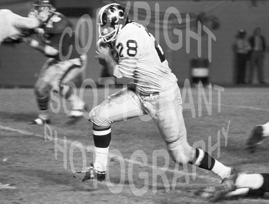 Jim Evensen BC Lions running back 1971. Copyright photograph Scott Grant