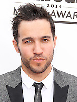 LAS VEGAS, NV, USA - MAY 18: Pete Wentz at the Billboard Music Awards 2014 held at the MGM Grand Garden Arena on May 18, 2014 in Las Vegas, Nevada, United States. (Photo by Xavier Collin/Celebrity Monitor)