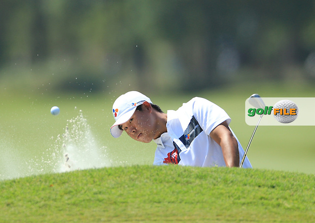Si Woo Kim (KOR) during the First Round of The Players, TPC Sawgrass,   Florida, USA. 12/05/2016.<br /> Picture: Golffile | Mark Davison<br /> <br /> <br /> All photo usage must carry mandatory copyright credit (&copy; Golffile | Mark Davison)