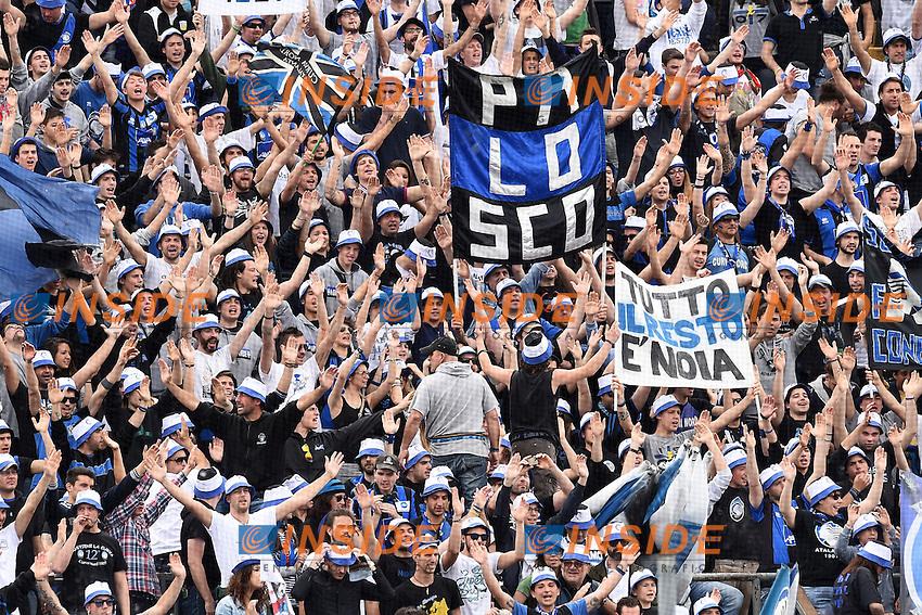 tifosi Atalanta<br /> Bergamo 11-05-2014 Stadio Atleti Azzurri d'Italia, Football Calcio Serie A 2013/2014, Atalanta-Milan, Foto Matteo Gribaudi/Image Sport/Insidefoto