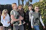 "Kristen Bell,Ryan Hansen & Kirsten Dunst at The Invisible Children's ""THE RESCUE"" Rally at City Hall in Santa Monica, California on April 25,2009                                                                     Copyright 2009 DVS / RockinExposures"