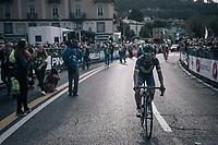 Nairo Quintana (COL/Movistar) finishing<br /> <br /> Il Lombardia 2017<br /> Bergamo to Como (ITA) 247km