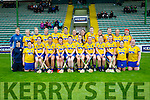 The Roscommon team who played Kerry in the All Ireland Camogie Premier Junior Championship at Austin Stack Park on Sunday.