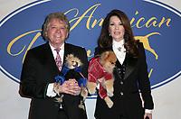 POMONA, CA - FEBRUARY 10: Ken Todd, Lisa Vanderpump, Giggy, at the Hallmark Channel's 2019 American Rescue Dog Show at Fairplex in Pomona, California on February 10, 2019. Credit: Faye Sadou/MediaPunch