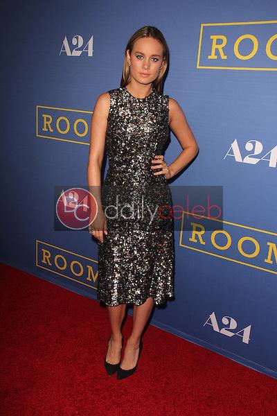 "Brie Larson<br /> at the ""Room"" Los Angeles Premiere, Pacific Design Center,  Los Angeles, CA 10-13-15<br /> David Edwards/Dailyceleb.com 818-249-4998"