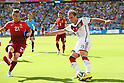 (L to R) <br /> Joao Pereira (POR), <br /> Mario Gotze (GER), <br /> JUNE 16, 2014 - Football /Soccer : <br /> 2014 FIFA World Cup Brazil <br /> Group Match -Group G- <br /> between  Germany 4-0 Portugal <br /> at Arena Fonte Nova, Salvador, Brazil. <br /> (Photo by YUTAKA/AFLO SPORT)
