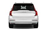 Straight rear view of 2018 Volvo XC90-4WD Inscription 5 Door SUV Rear View  stock images