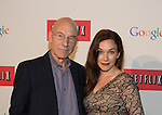WASHINGTON, DC - MAY 2: Patrick Stewart and Sunny Ozell attending the Google and Netflix party to celebrate White House Correspondents' Dinner on May 2, 2014 in Washington, DC. Photo Credit: Morris Melvin / Retna Ltd.