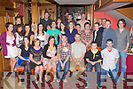 Stephen O'Leary Cordal seated centre celebrated his 21st with his family and friends in the River Island Hotel Castleisland on Saturday night..