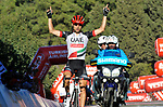 Diego Ulissi (ITA) UAE Team Emirates wins Stage 4 of the Presidential Cycling Tour of Turkey 2017 running 204.1km from Marmaris to Sel&ccedil;uk, Turkey. 13/10/2017.<br /> Picture: Brian Hodes/VeloImages | Cyclefile<br /> <br /> <br /> All photos usage must carry mandatory copyright credit (&copy; Cyclefile | Brian Hodes/VeloImages)