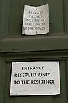 Rome, Italy; May 26, 2012 -- What is behind this door? -- Photo: © HorstWagner.eu