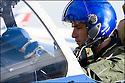 -2008-Salon de Provence- Capitaine Christophe Pera juste avant le décollage. Patrouille de France.