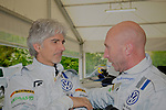 Damon Hill & Perry McCarthy - Volkswagen Scirocco R Cup