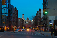 Greenwich Village Street Crossing, New York