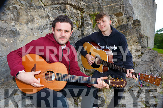 Killarney musician Tom Lucey who will play the INEC Acustic club with his special guest his brother Donal on the 17th August