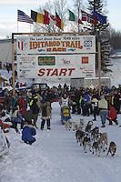 Sebastian Schnuelle Willow restart Iditarod 2008.