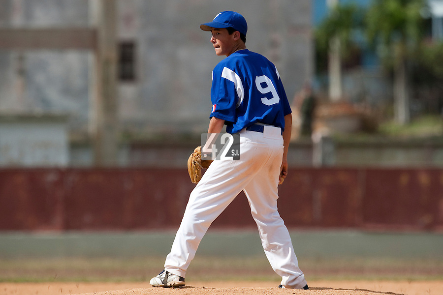 BASEBALL - POLES BASEBALL FRANCE - TRAINING CAMP CUBA - HAVANA (CUBA) - 13 TO 23/02/2009 - JULIEN HIGASHIYAMA (FRANCE)
