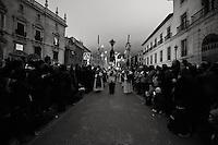 The silence procession, Granada