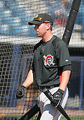 Adam LaRoche of the Pittsburgh Pirates vs. the New York Yankees March 18th, 2007 at Legends Field in Tampa, FL during Spring Training action.  Photo copyright Mike Janes Photography 2007.