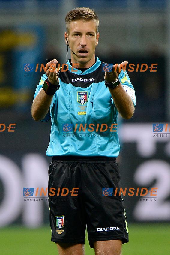 Davide Massa arbitro.Referee<br /> Milano 26-10-2016 Stadio Giuseppe Meazza - Football Calcio Serie A Inter - Torino. Foto Giuseppe Celeste / Insidefoto