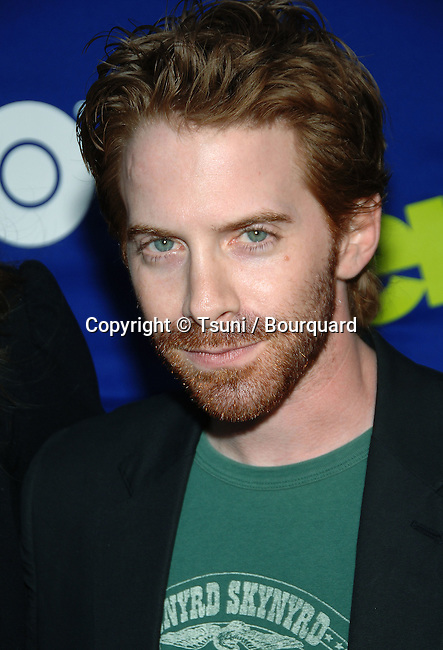 Seth Green arriving at ENTOURAGE Premiere at the Arcligth Theatre In Los Angeles.  June 1st 2006.