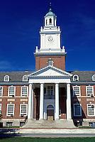 John Hopkins University, Baltimore, Maryland, college, Gilman Hall on the campus of John Hopkins University in Baltimore.
