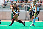 28 August 2009: Boston College Eagles' Back / Midfielder Jessica Roberts, a Junior from East Bridgewater, MA, in action against the University of Vermont Catamounts at Moulton Winder Field in Burlington, Vermont. The Eagles shut out the Catamounts 3-0 in both teams' first game of the 2009 season. Mandatory Photo Credit: Ed Wolfstein Photo
