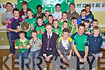 Na Gael GAA Club's Special Awards Winners pictured with Kerry's Colm 'The Gooch' Cooper at the Junior Awards Night held in their clubhouse last Wednesday evening. Seated l/r James Quigley, Eamon Sheeehy, Colm Cooper, Darren Burns, Philip Dewey (Chairman of Bord na Og) and Jonathon McCarthy.Centre l/r Andrew Barry, Liam Cahill, Fergal Barry, Ryan O'Neill, Adam Burke, Ruari O Sullivan, Stephen Ryan, Enda O'Connor and Jack Brown. Back l/r Micheal Maher, David Moynihan, Segun Duyile , Diarmuid O'Connor, Darragh Carmody, Shaun Duggan, Conor Nolan, Timmy Culloty and Gerard O'Connor.