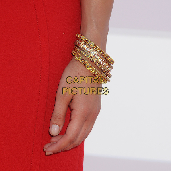 Sophia Bush's hand.CBS, CW, Showtime 2012 Summer TCA Party held at The Beverly Hilton Hotel, Beverly Hills, California, USA..July 29th, 2012.hand detail gold bracelets red   .CAP/ADM/BP.©Byron Purvis/AdMedia/Capital Pictures.