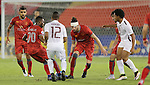 EL JAISH (QAT) vs LEKHWIYA (QAT) during their AFC Champions League Round of 16 match on 25 May 2016 held at the Jassim Bin Hamad Stadium,, in Doha, Qatar. Photo by Stringer / Lagardere Sports