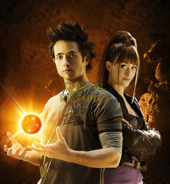 Justin Chatwin & Emmy Rossum.in Dragonball Evolution .*Filmstill - Editorial Use Only*.CAP/PLF.Supplied by Capital Pictures.