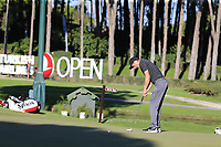 Ross Fisher (ENG) putts on the 17th green during Thursday's Round 1 of the 2018 Turkish Airlines Open hosted by Regnum Carya Golf &amp; Spa Resort, Antalya, Turkey. 1st November 2018.<br /> Picture: Eoin Clarke | Golffile<br /> <br /> <br /> All photos usage must carry mandatory copyright credit (&copy; Golffile | Eoin Clarke)