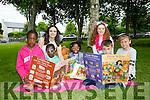 l-r  Grace Angbody, Efua Angbody, Naledi Hlongwane, Joey Wall and Clamtz Aga at the CBS primary School family fun day on Saturday