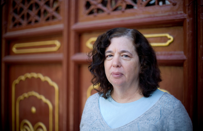Gillian Gibbons, English teacher, in China.