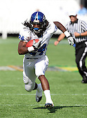Armwood Hawks running back Matthew Jones #24 runs upfield during the first quarter of the Florida High School Athletic Association 6A Championship Game at Florida's Citrus Bowl on December 17, 2011 in Orlando, Florida.  The score at halftime is Armwood 16 - Miami Central 14.  (Photo By Mike Janes Photography)