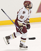 Chris Collins - The Boston College Eagles defeated Northeastern University Huskies 5-3 on Saturday, November 19, 2005, at Kelley Rink in Conte Forum at Chestnut Hill, MA.