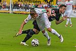 20.07.2018, Zillertalarena, Zell am Ziller, AUT, FSP, 1.FBL, SV Werder Bremen (GER) vs 1. FC Koeln (GER), im Bild<br /> Kevin Möhwald / Moehwald (Neuzugang SV Werder Bremen #06)<br /> Niklas Hauptmann (Neuzugang Koeln #36)<br /> <br /> Foto © nordphoto / Kokenge