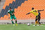 06.01.2019, FNB Stadion/Soccer City, Nasrec, Johannesburg, RSA, FSP, SV Werder Bremen (GER) vs Kaizer Chiefs (ZA)<br /> <br /> im Bild / picture shows <br /> Milot Rashica (Werder Bremen #11), Kgotso Moleko (Kaizer Chiefs #18), <br /> <br /> Foto &copy; nordphoto / Ewert