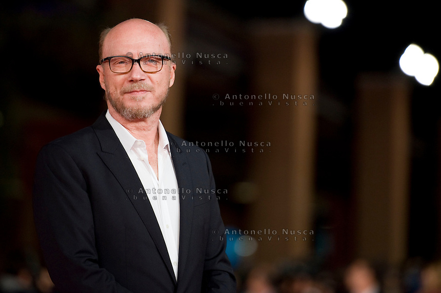 Rome, october 16, 2015. Paul Haggis walks the red carpet for 'Truth' during the 10th Rome Film Fest at Auditorium Parco Della Musica.