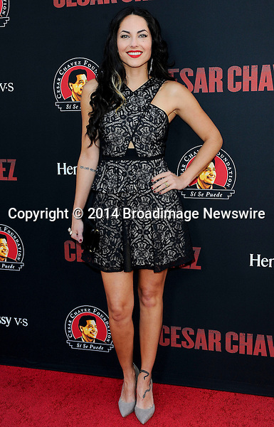 Pictured: Barbara Mori<br /> Mandatory Credit &copy; Adhemar Sburlati/Broadimage<br /> Film Premiere of Cesar Chavez<br /> <br /> 3/20/14, Hollywood, California, United States of America<br /> <br /> Broadimage Newswire<br /> Los Angeles 1+  (310) 301-1027<br /> New York      1+  (646) 827-9134<br /> sales@broadimage.com<br /> http://www.broadimage.com