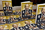 CORAL GABLES, FL - FEBRUARY 02:General view of books on display during Daymond John speak and sign copies of his new book ' Rise and Grind: Outperform, Outwork, and Outhustle Your Way to a More Successful and Rewarding Life' at Coral Gables Congregational Church on February 2, 2018 in Coral Gables, Florida.  ( Photo by Johnny Louis / jlnphotography.com )