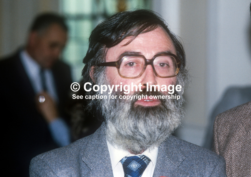 "Des O'Hagan, Belfast, N Ireland, prominent member, Workers"" Party. 198200000159a"